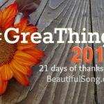 GreaThings 2014