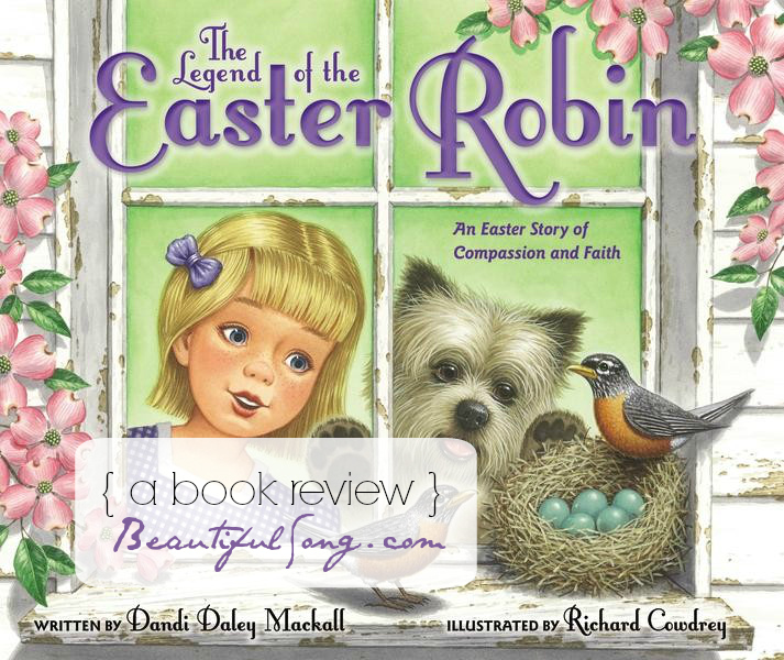 The Legend of the Easter Robin { a book review }