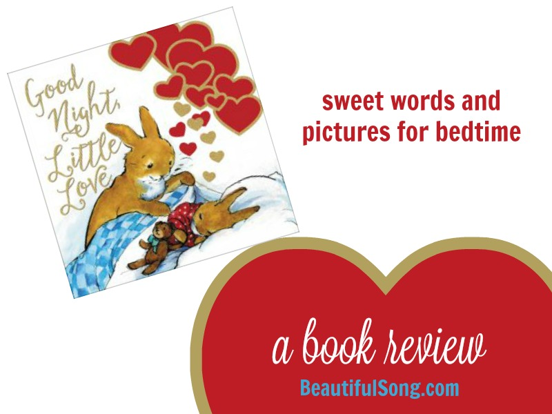 Goodnight, Little Love –a book review